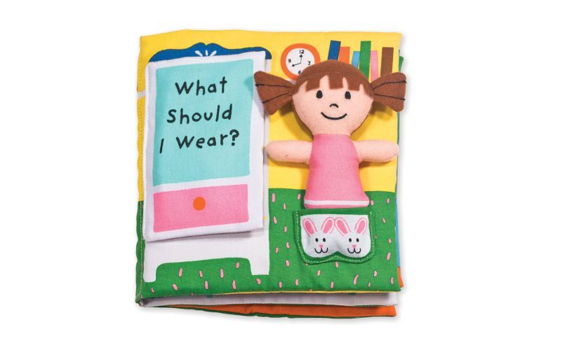 What Should I Wear? Soft Activity Book