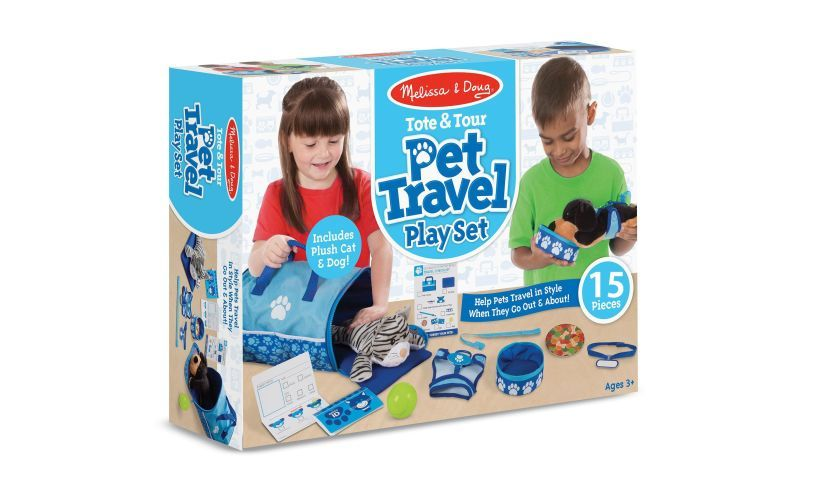 Pet Travel Play Set Box