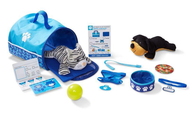 Pet Travel Play Set Contents