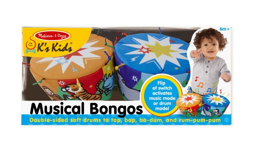 Musical Bongos Box