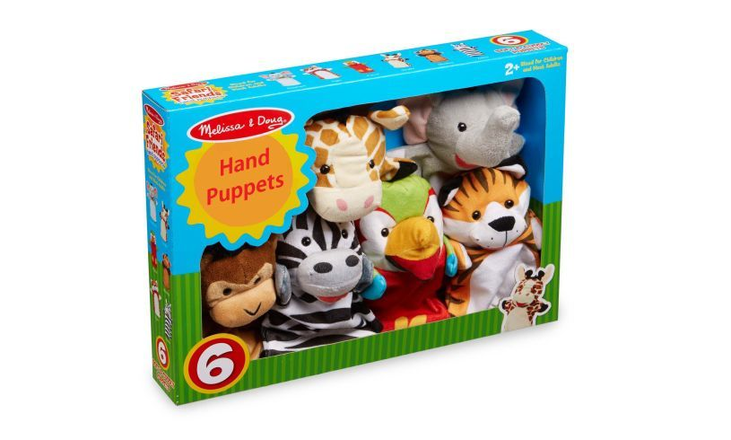 Hand Puppets Box