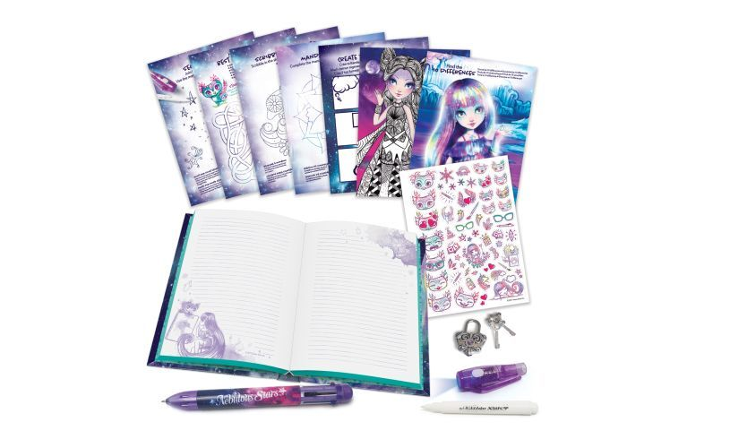 Secret Diary Set Spill