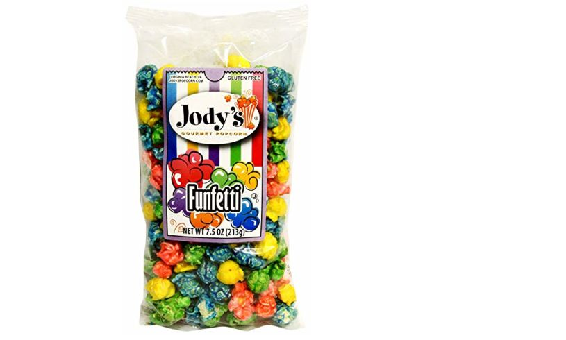 funfetti popcorn rainbow