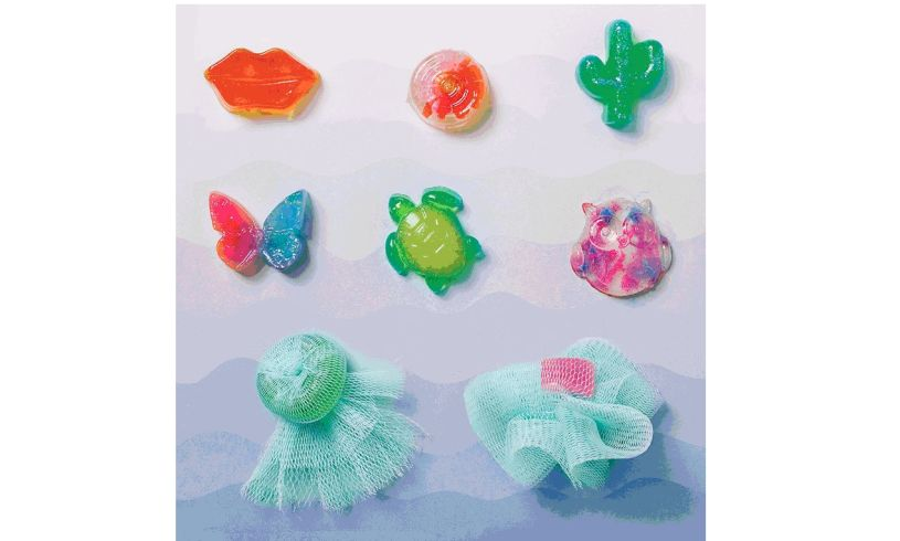 Make Your Own Soap Jellies' display