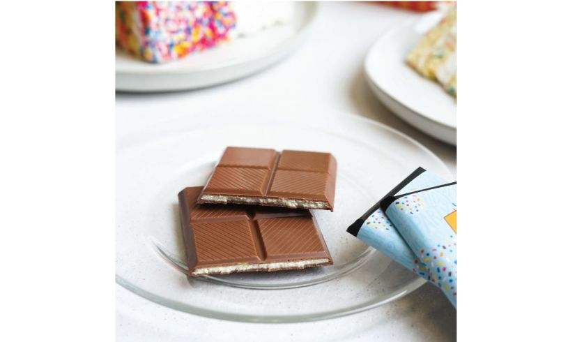 unwrapped chocolate bars
