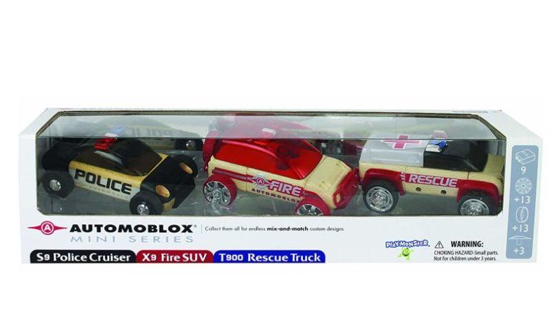 Automoblox Mini Rescue Vehicles Box