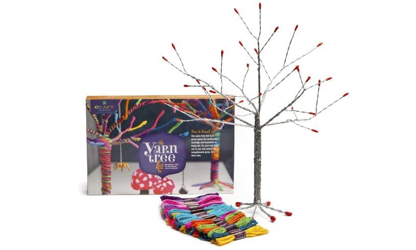 The Yarn Tree Kit - DIY Threading display