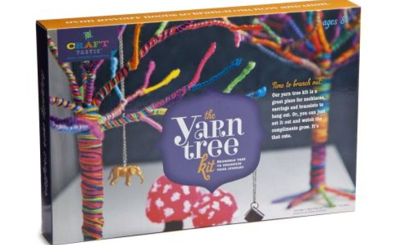 The Yarn Tree Kit - DIY Threading boxed