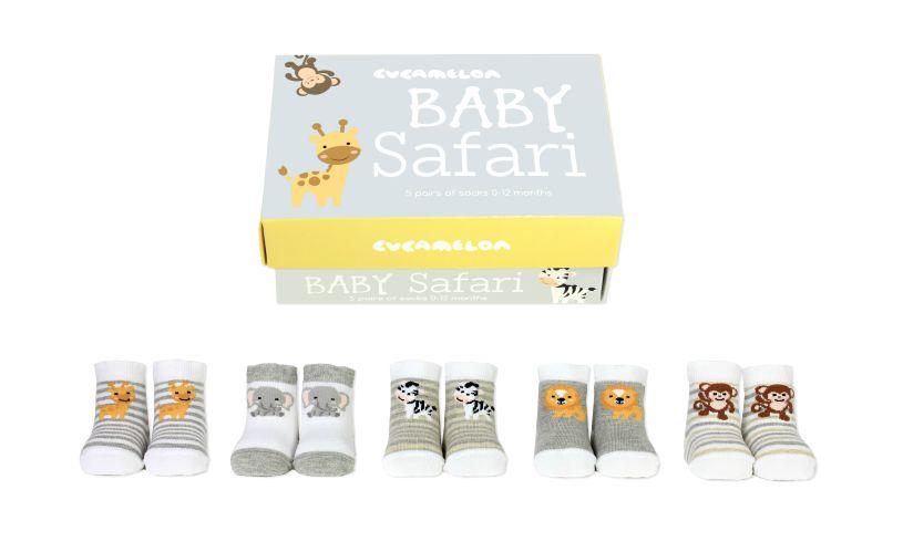 Baby Safari Socks