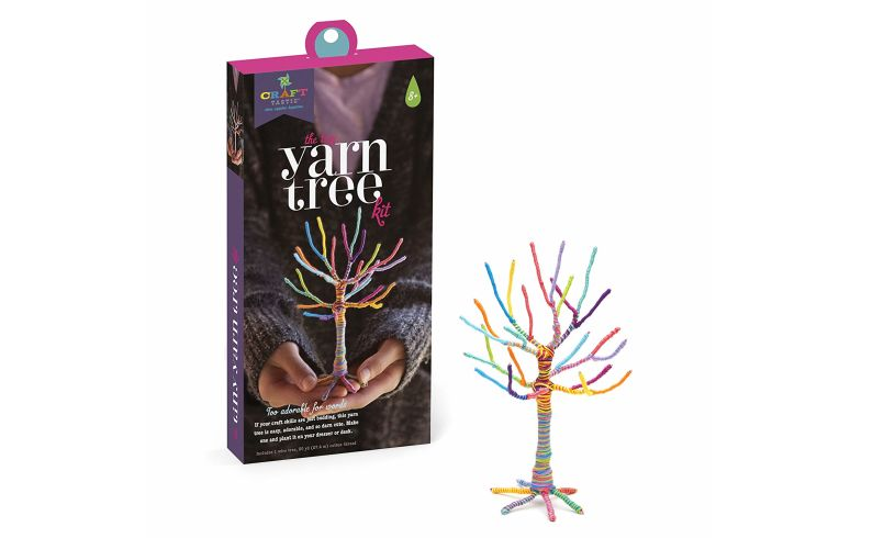 The Tiny Yarn Tree Kit - awesome