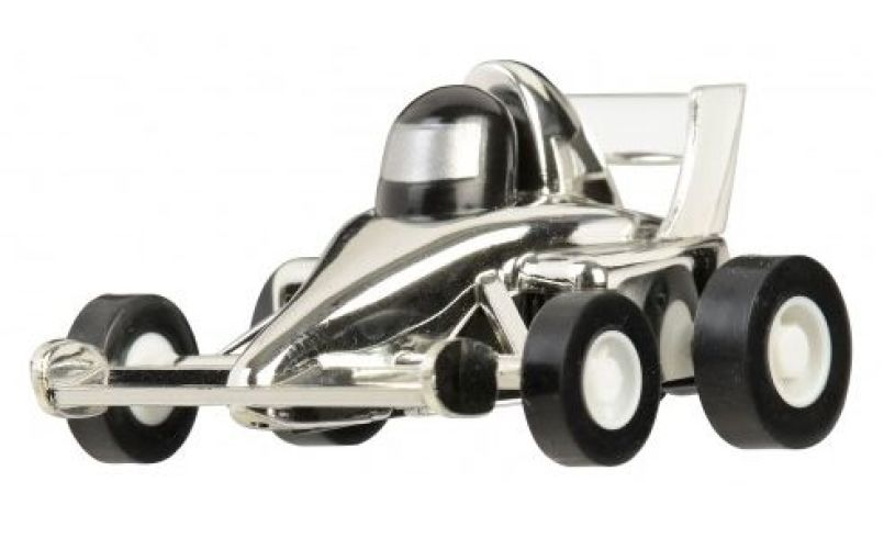 close up of pull back racer