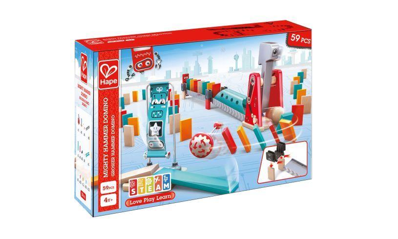 Mighty Hammer Domino Set Box