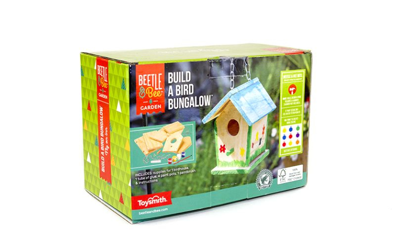 Build A Bird Bungalow Back