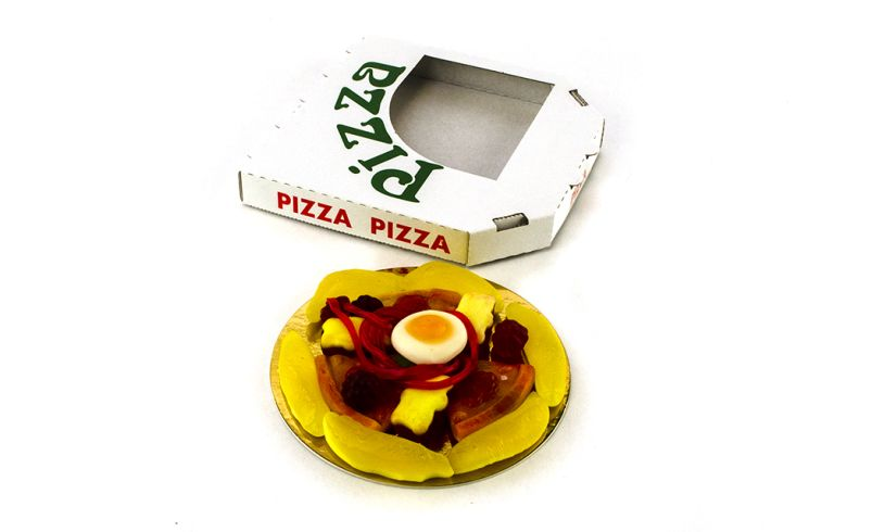 Candy Pizza Box Spill Tray
