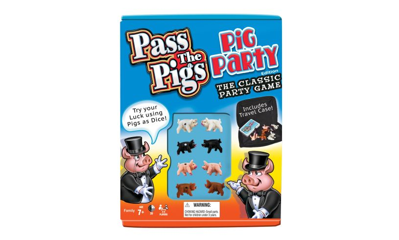 box set of Pass the Pigs party game