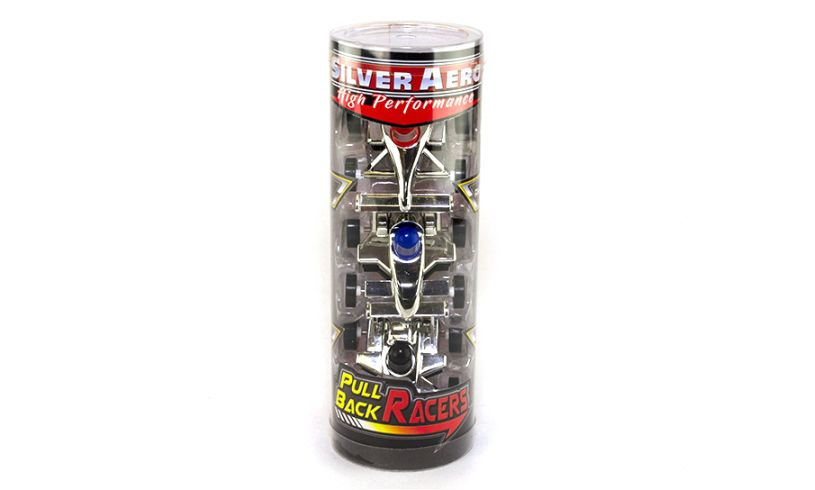 case of 3 pull back racers