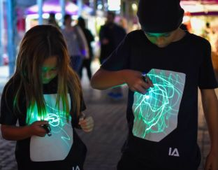 Illuminated Apparel Interactive T-Shirt