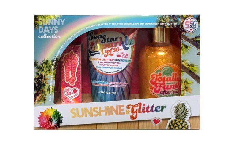 sunshine and glitter