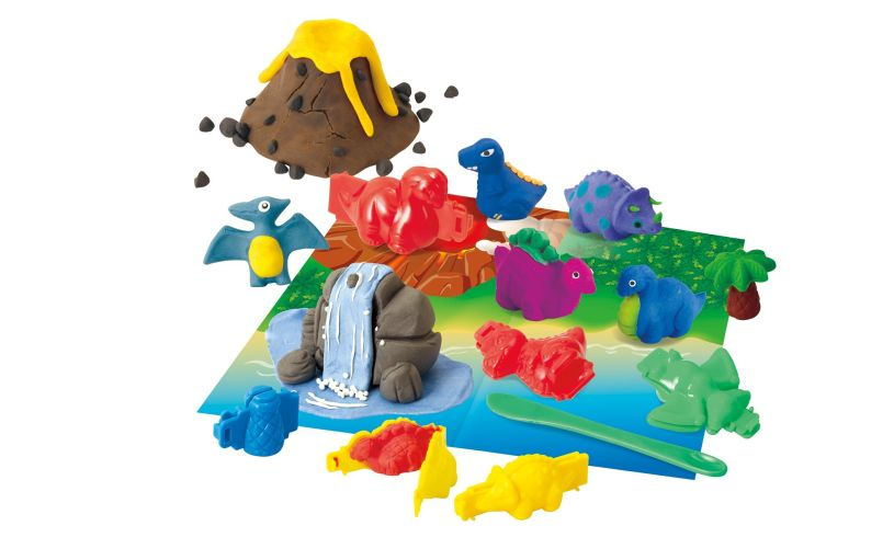 Create your world with crayola dough