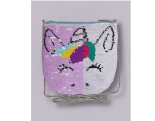 reversible sequin unicorn bag