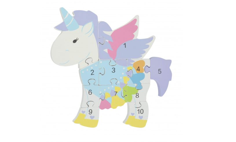 Unicorn Number Puzzle Detail
