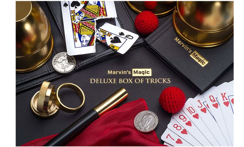 Marvin's Magic Deluxe Box of Tricks
