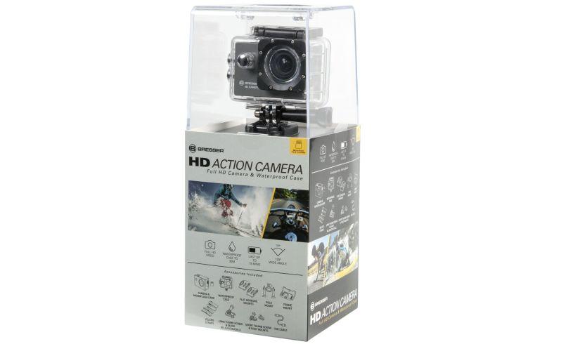 HD action camera box