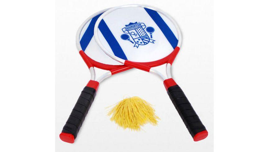 ogominton rackets and pom