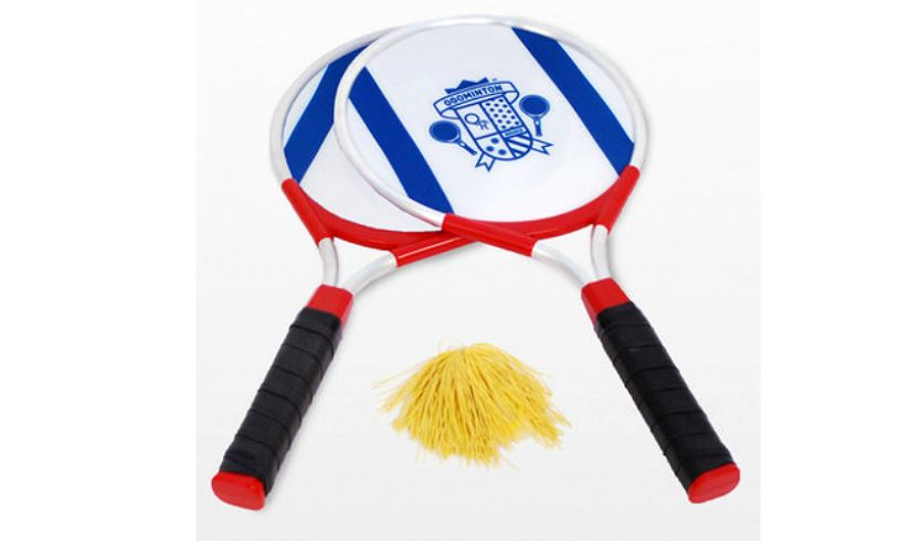 ogominton rackets and pom