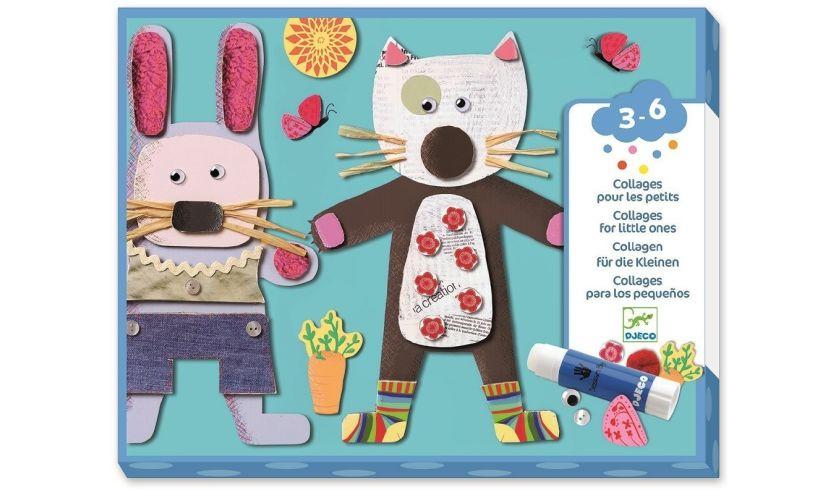 Collage Fun - Animal Paper Art
