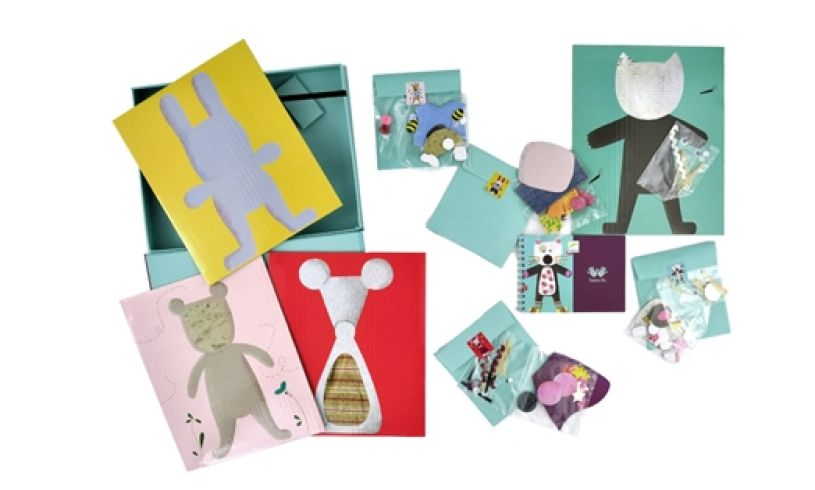 Collage Fun - Animal Paper Art Inside