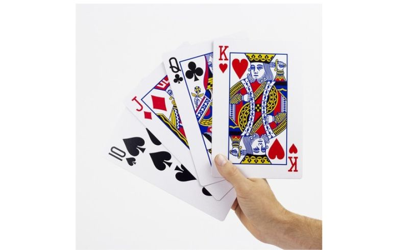 Giant Playing Cards Hand