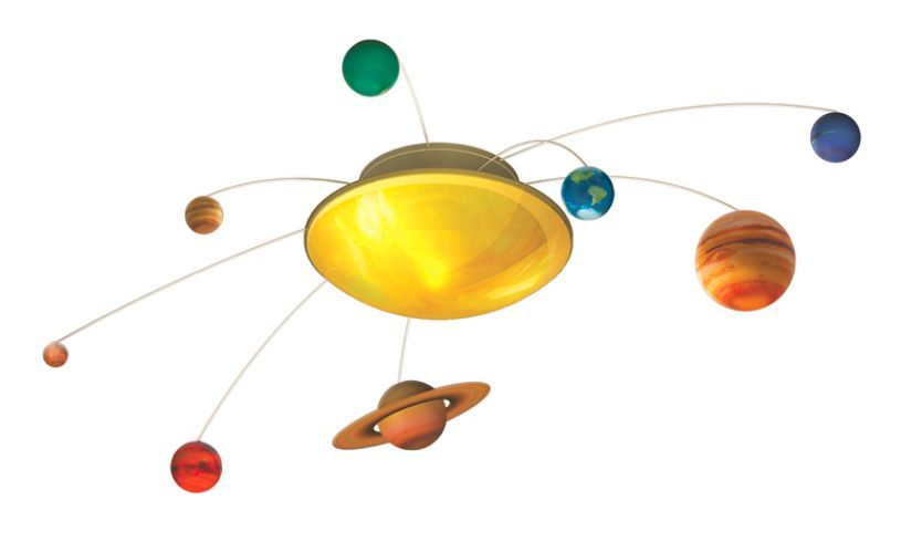 Solar System in my Room displayed