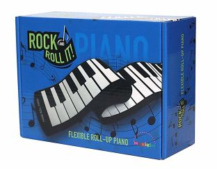 Flexible roll up piano- 49 keys