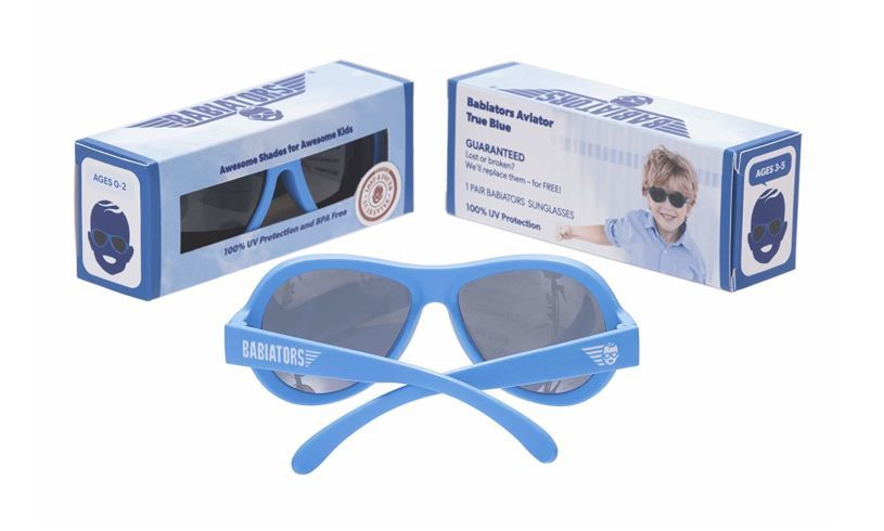 Babiators Sunglasses back and box