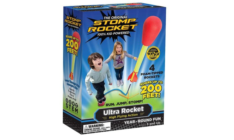 Super Stomp Rocket