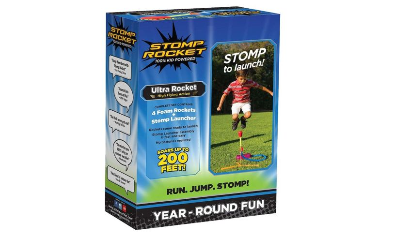 Original Stomp Rocket Box Rear