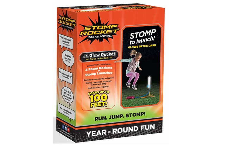 Stomp Rocket Jr. Glow Content