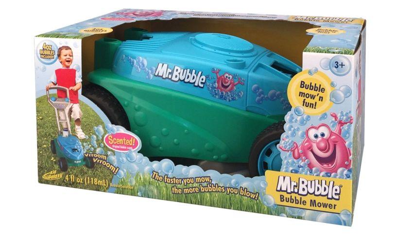 mr bubble mower box