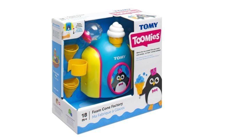 Tomy Foam Cone Factory Box
