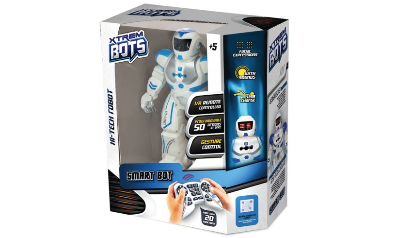 motion robot smart bot box