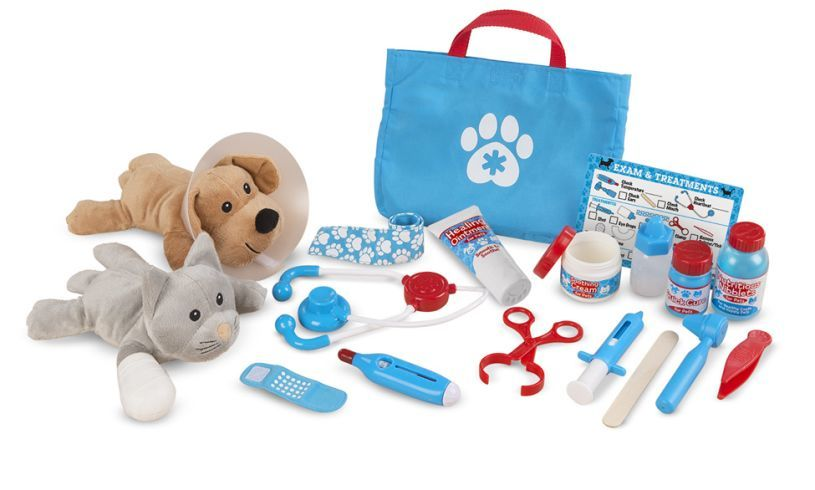 Pet Vet Play Set Contents