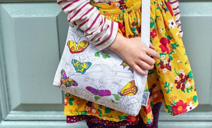 Butterfly Crossbody Bag LS2