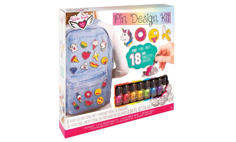 pin design kit box