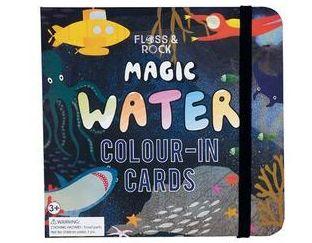 Deep Sea - Magic Water Color-In Cards book