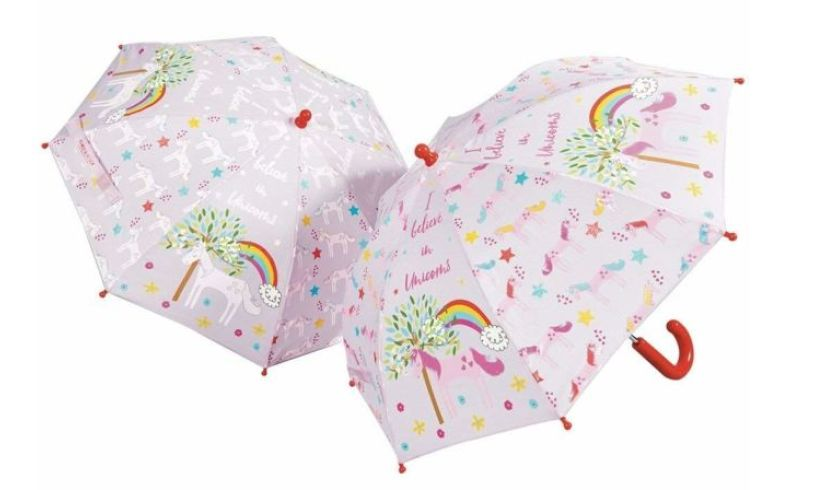 Unicorn Color Changing Umbrella