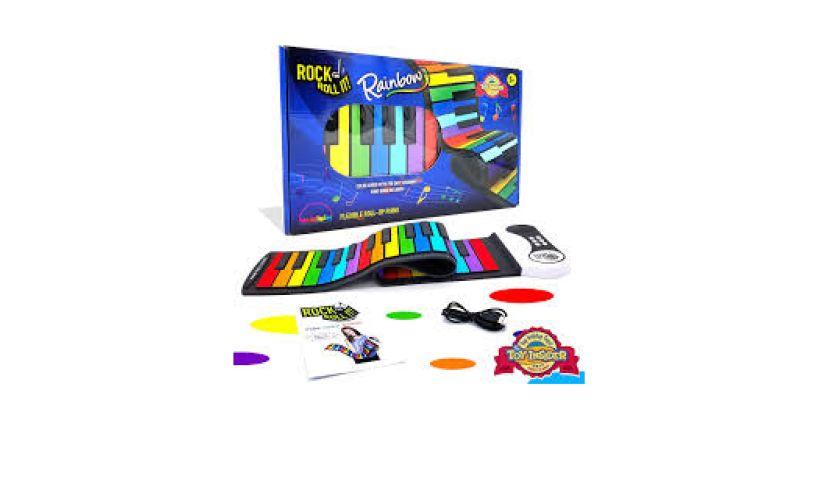 Rainbow flexible rock and roll it piano kit