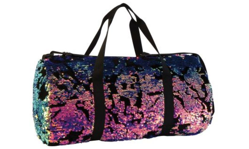 Magic Sequin Velvet Duffel Bag