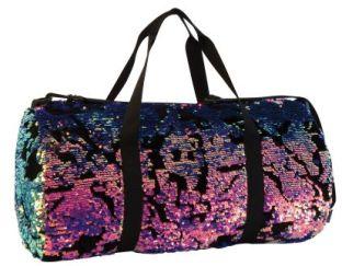 Magic Sequin Velvet Duffel Bag