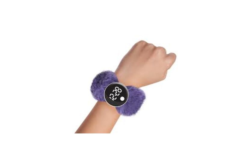 watchitude digital slap watch grape jelly
